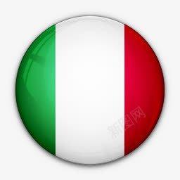 国旗意大利对世界标志图标免抠素材免费下载 素材7mippgkjp 新图网