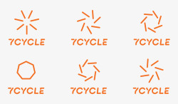 7Cycle Branding on Behance品牌形象设计素材
